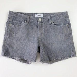 PAIGE Jimmy Jimmy Jean Short Panama Wash Grey 27